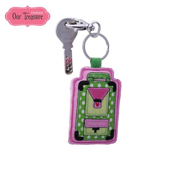 Trolly Bag  Keychain