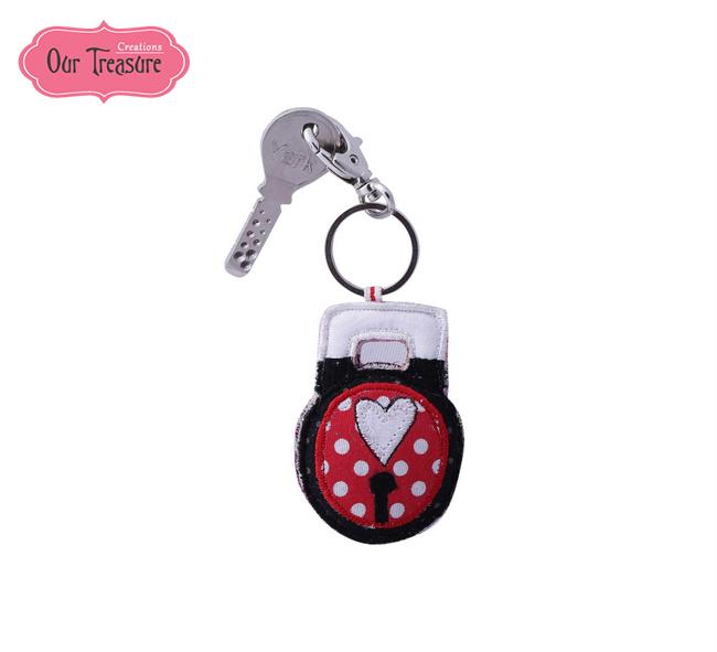 Love Lock  Keychain