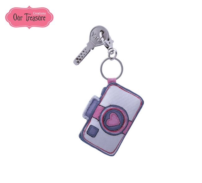 Love Camera  Keychain