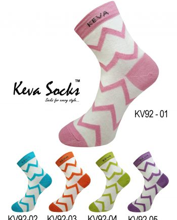 kv92 chevron socks